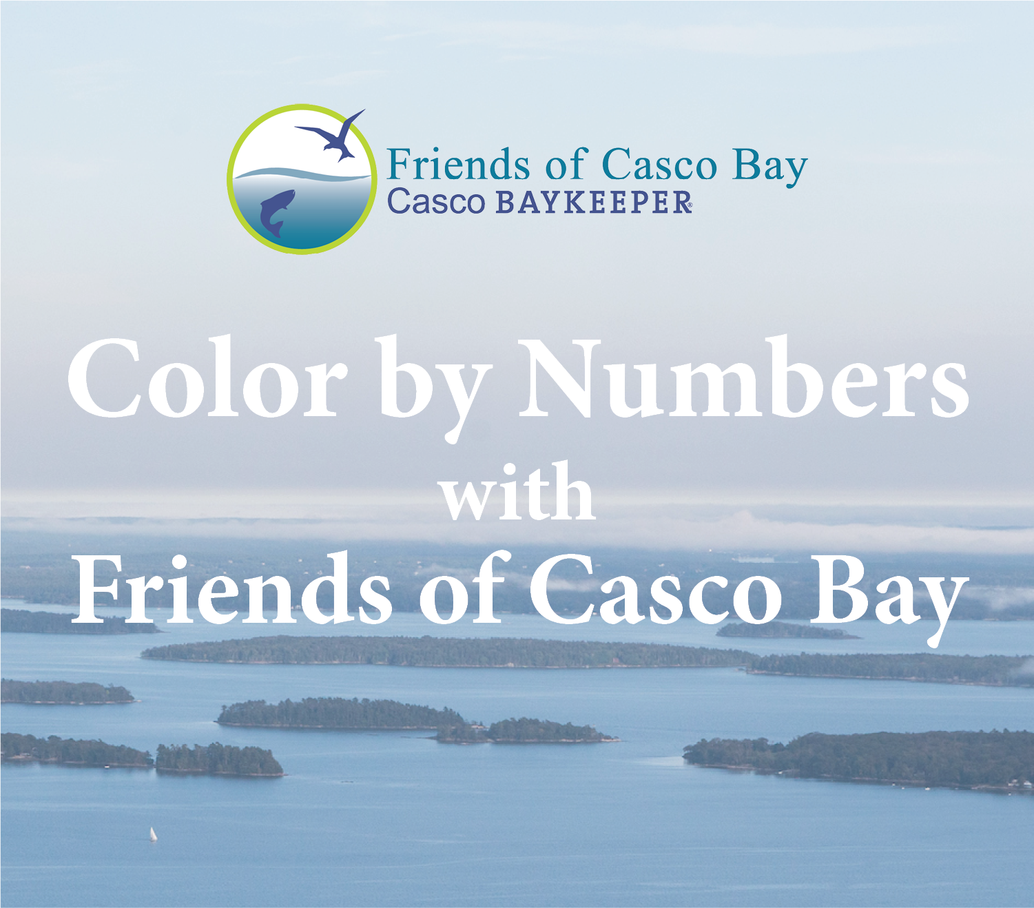 images for color by numbers manual • Friends of Casco Bay